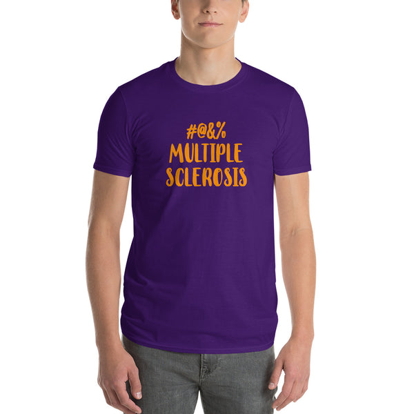 Censored Multiple Sclerosis Short-Sleeve T-Shirt