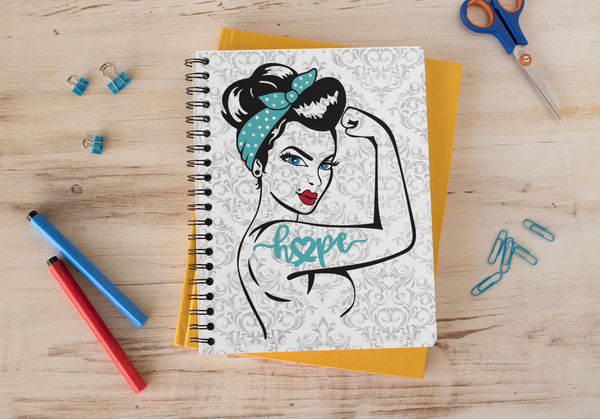 Turquoise Hope Fighter Planner