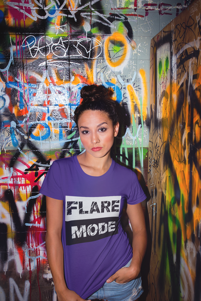 Flare Mode Short-Sleeve T-Shirt