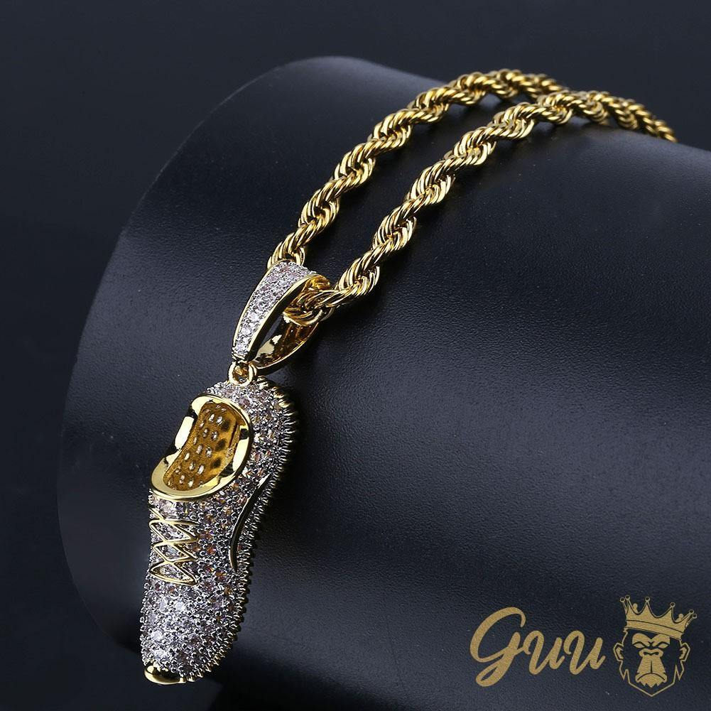 Iced Out Bling Ohrstecker Box DOLLAR SIGN schwarz