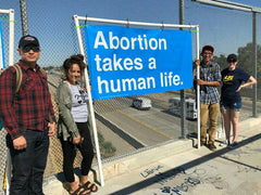 Pro-Life Bridges Banner Kit