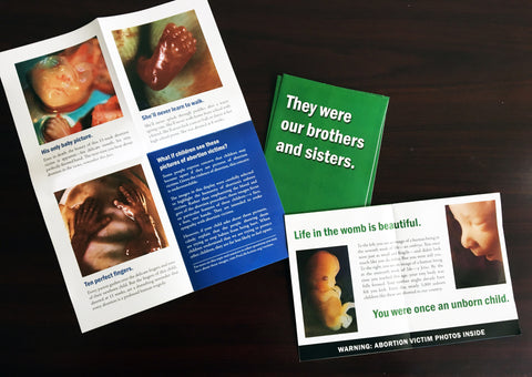 """They Were Our Brothers and Sisters"" Pamphlet (100 count)"