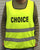 """Choice"" Vest for Sidewalk Counselors"