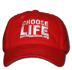Choose Life Baseball Cap