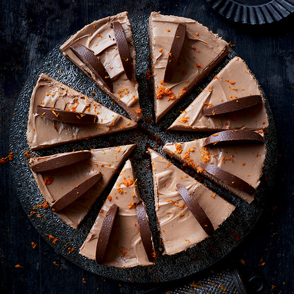 Tanya Burr's Chocolate Orange Cheesecake