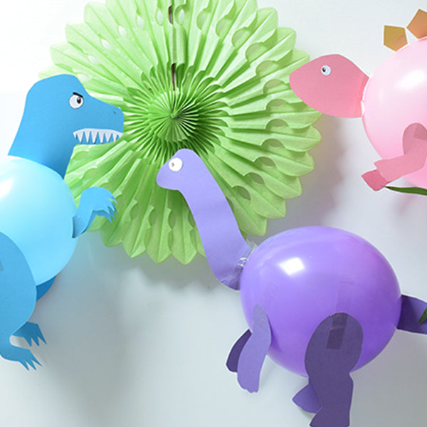 How to make your very own dinosaur balloons