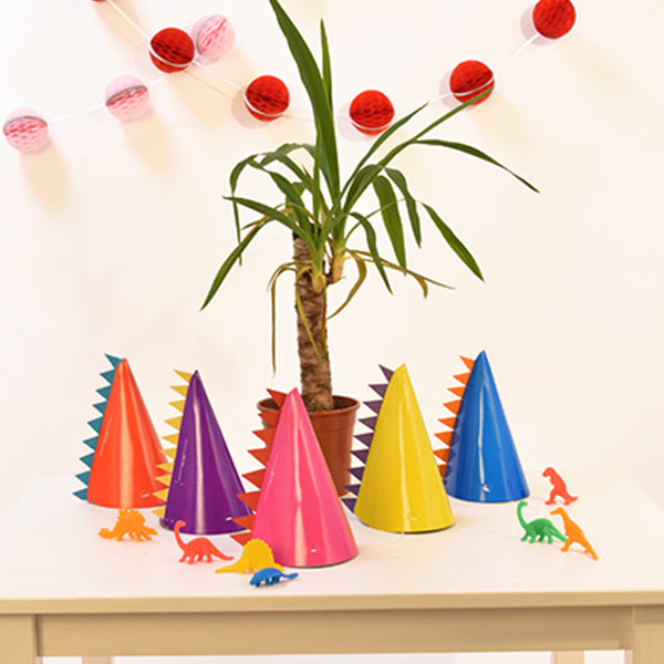 DIY Dinosaur Party Hats