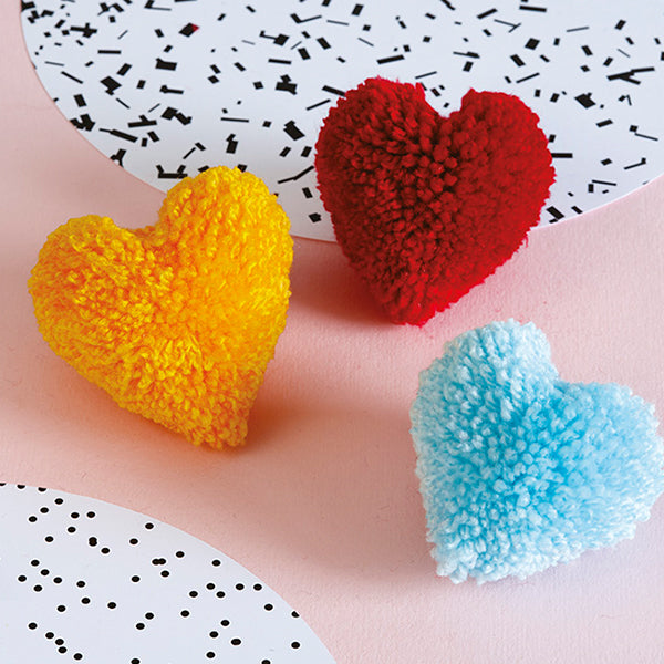 How To Make Party Pom Pom Love Hearts