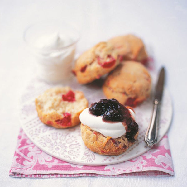 Cherry & Almond Scones