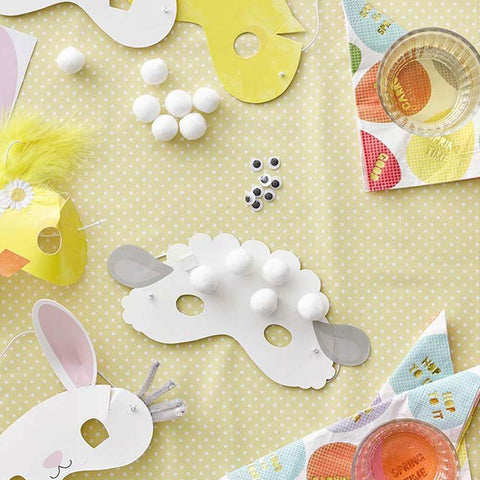 An Easter mask making kit