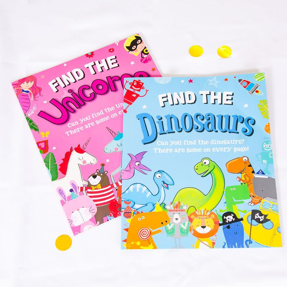 Activity Books & Stationery
