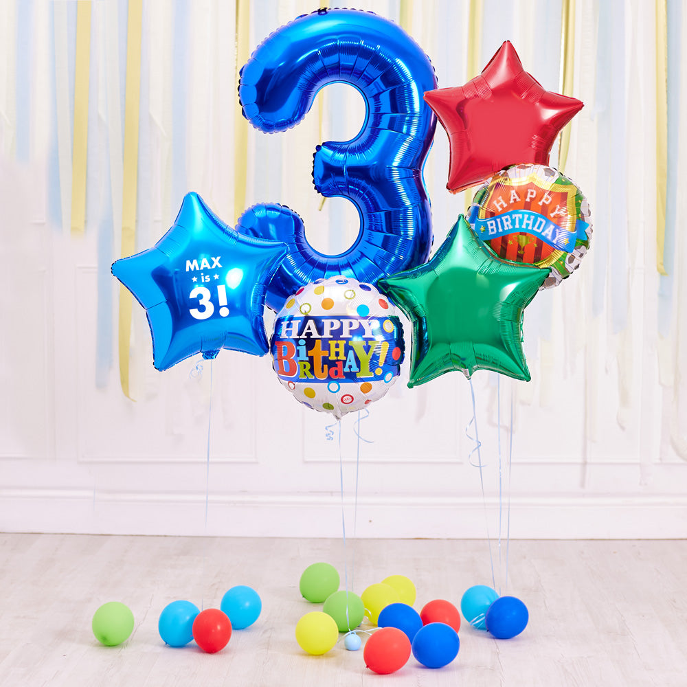 Kids Number Bouquets
