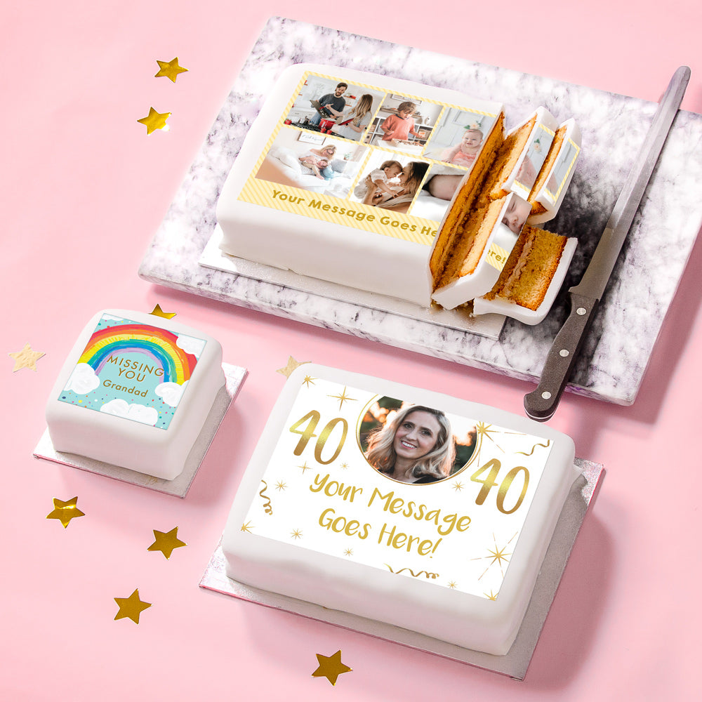 Personalised Cakes & Accessories