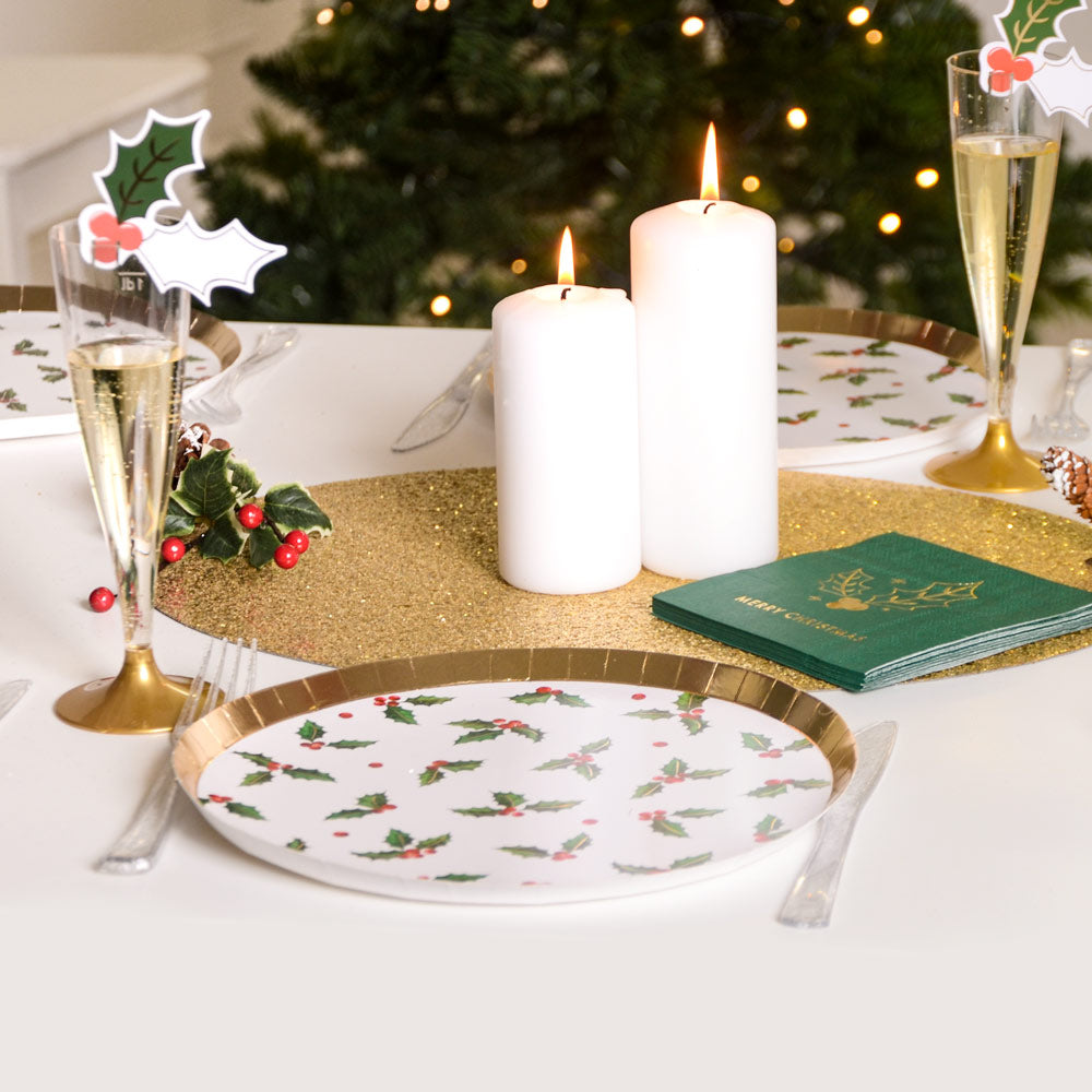Christmas Tableware & Catering