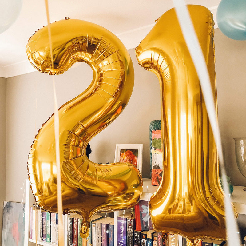 Number, Letter & Phrase Balloons