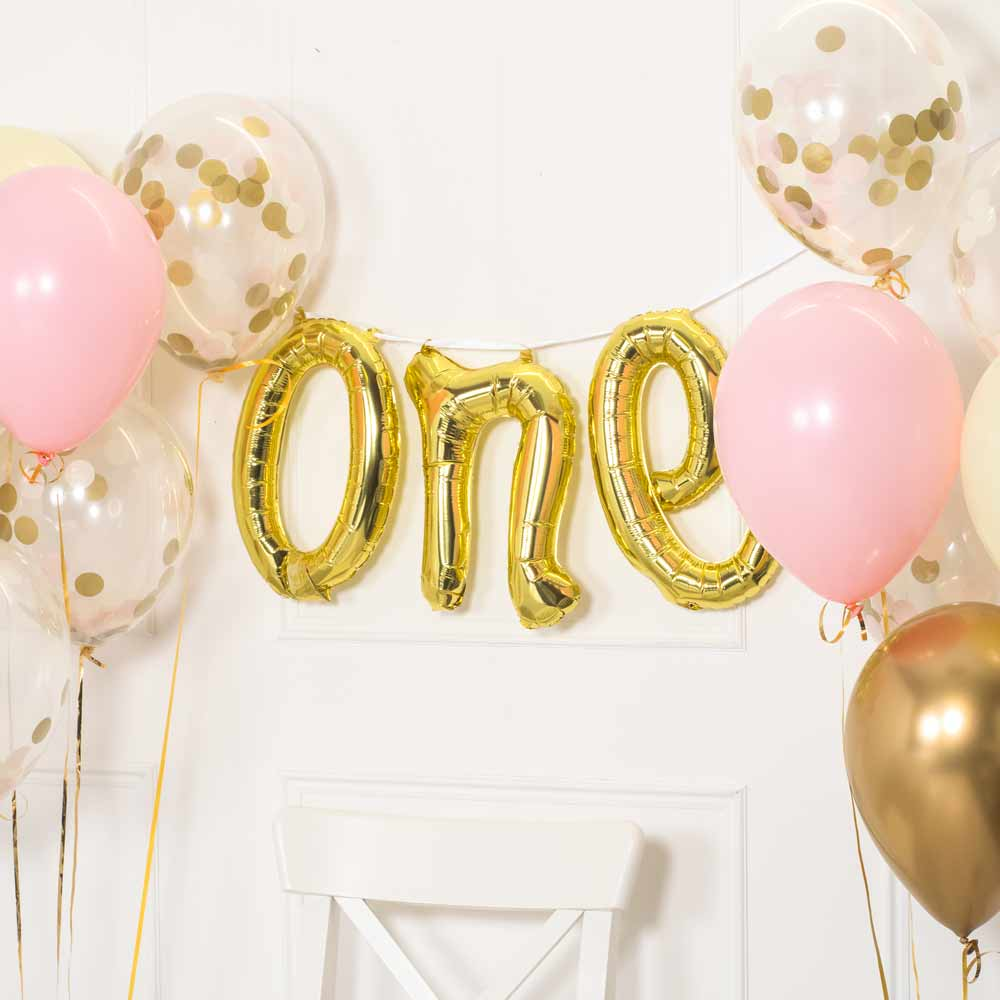 1st Birthday Balloons