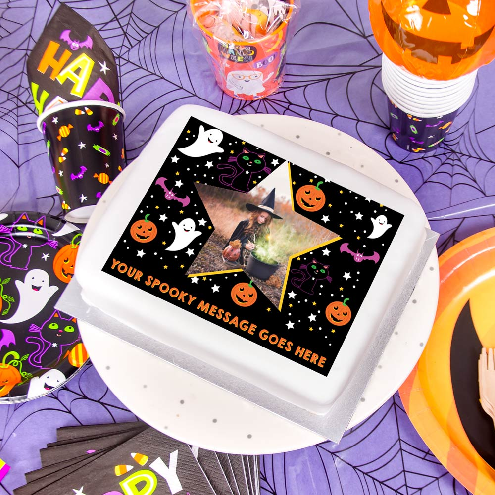 Halloween Cakes & Cake Decorations