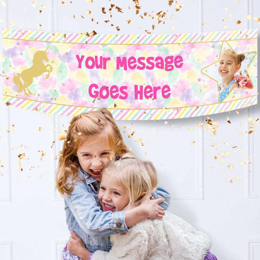 Kids Personalised Banners