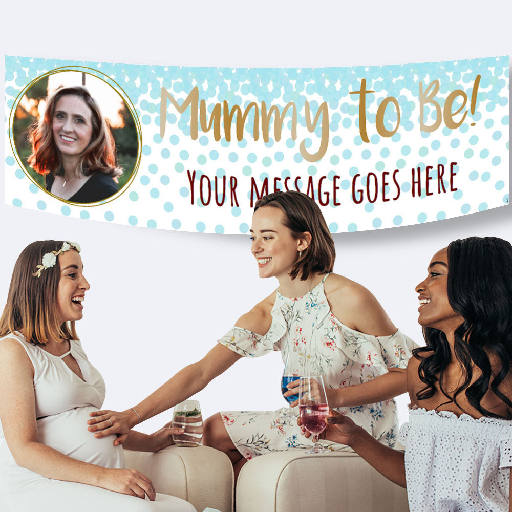 Baby Shower Personalised Banners
