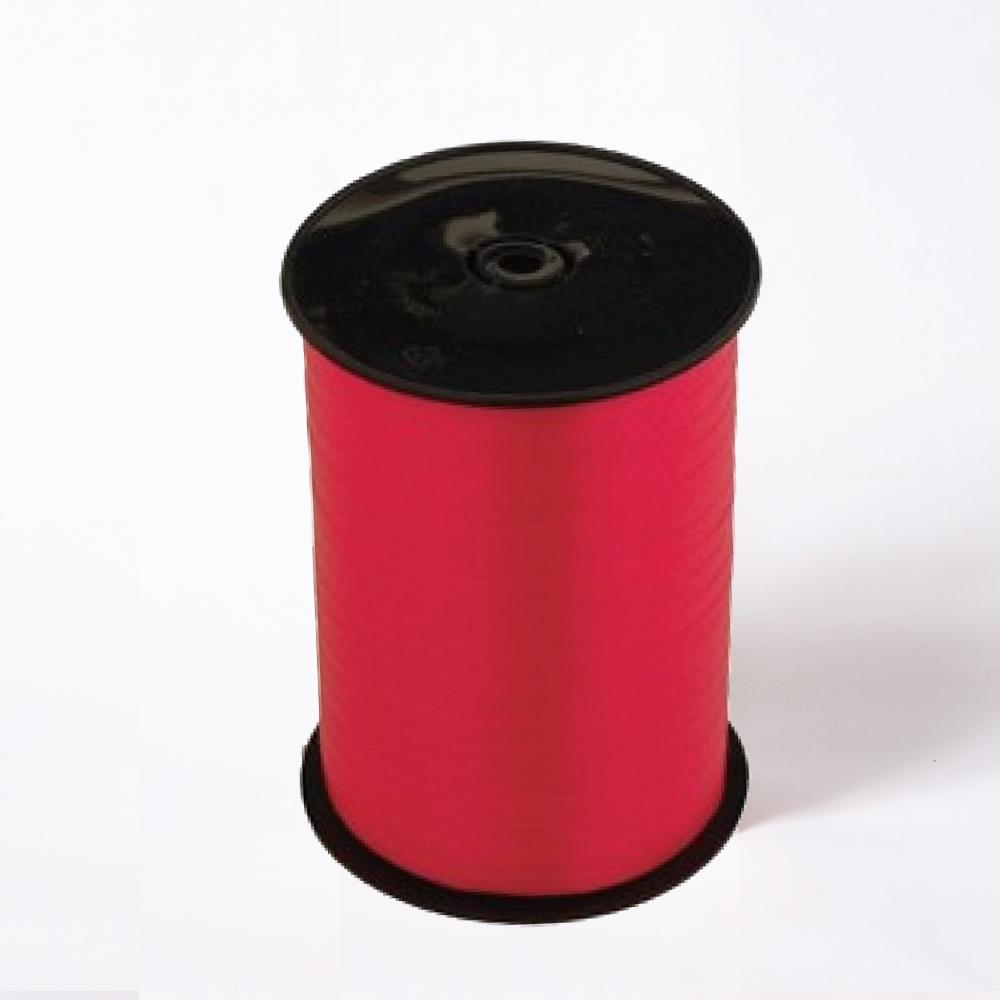 A reel of red party and gift ribbon