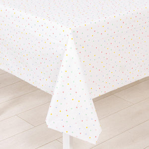 Spotty Paper Party Table Cover