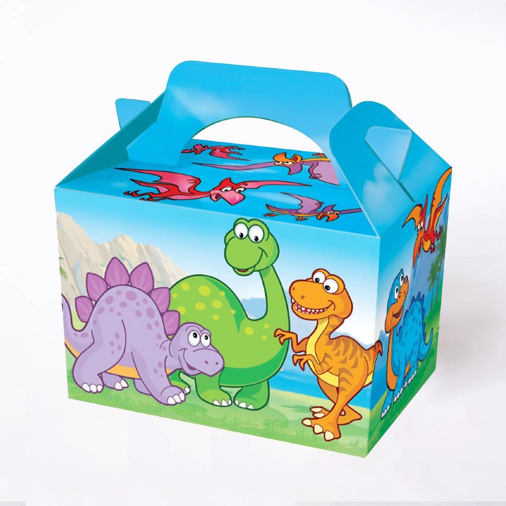 Dinosaurs Party Boxes (x4)
