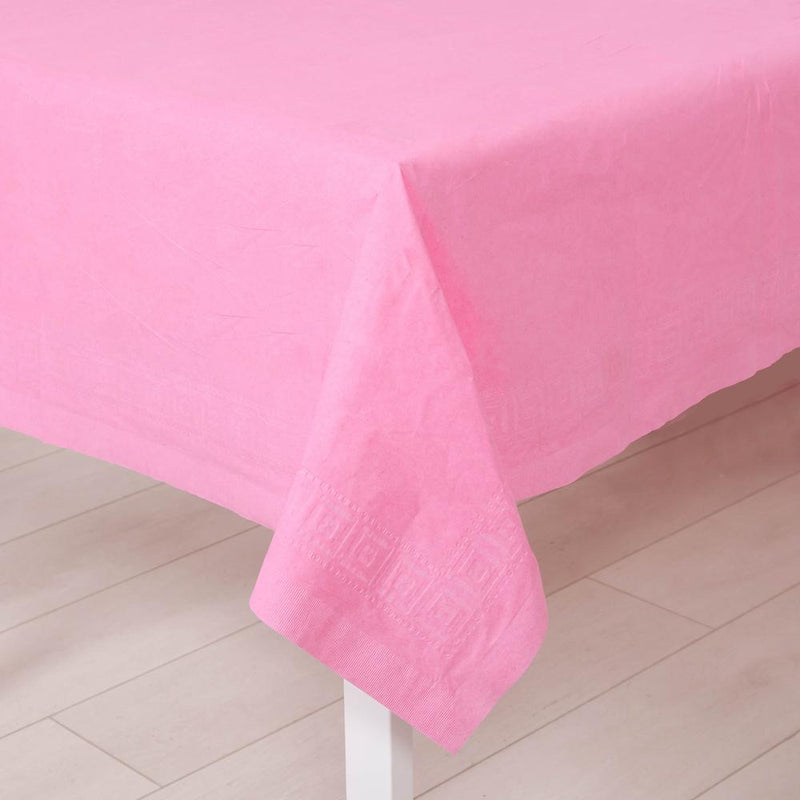 Paper Party Table Cover Pale Pink