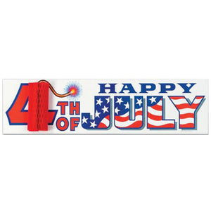 4th July Party Sign