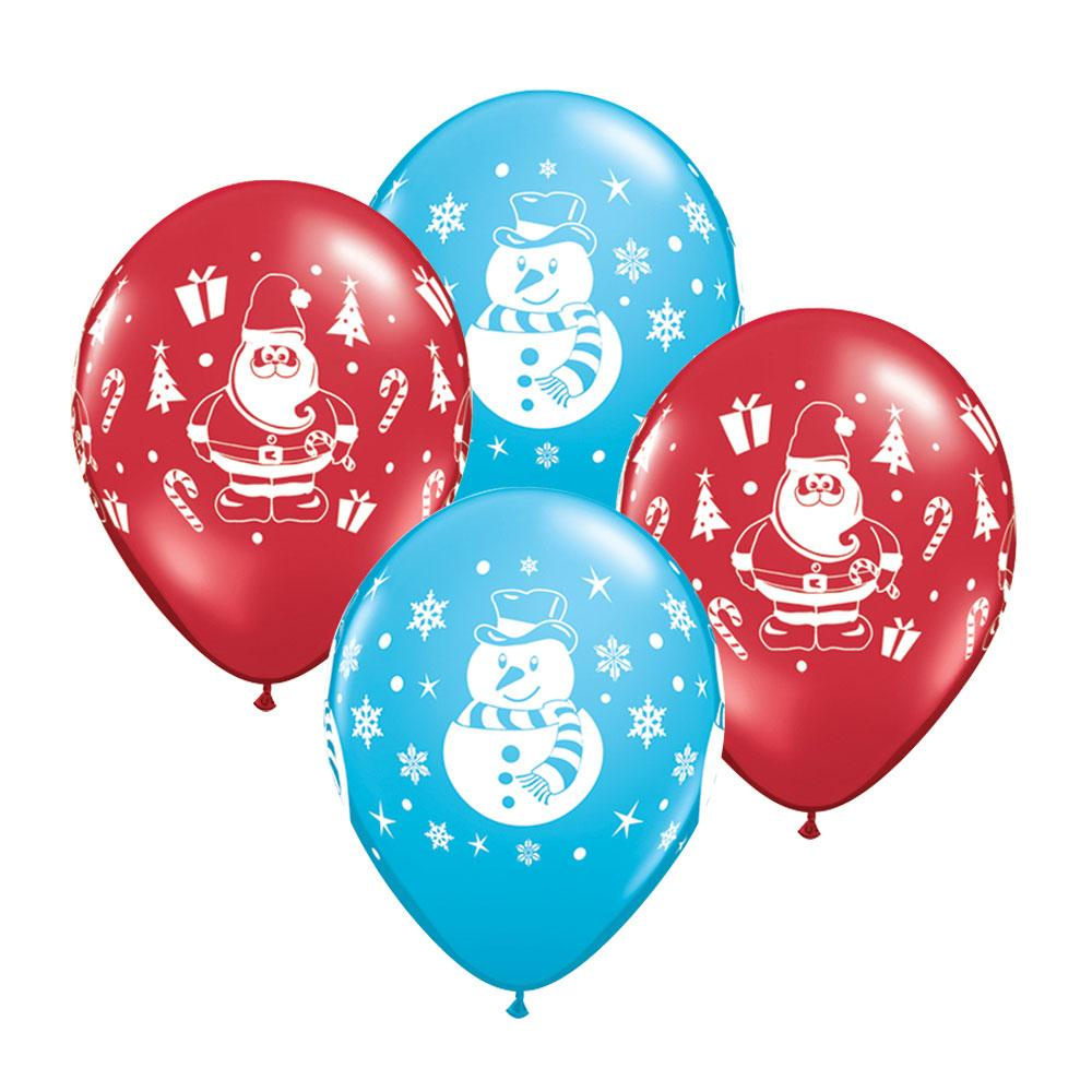 Christmas Character Party Balloons (x6)
