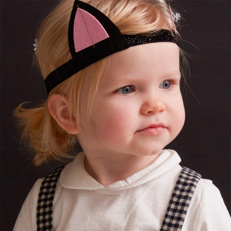 Kids Cat Ears And Tail Costume Prop