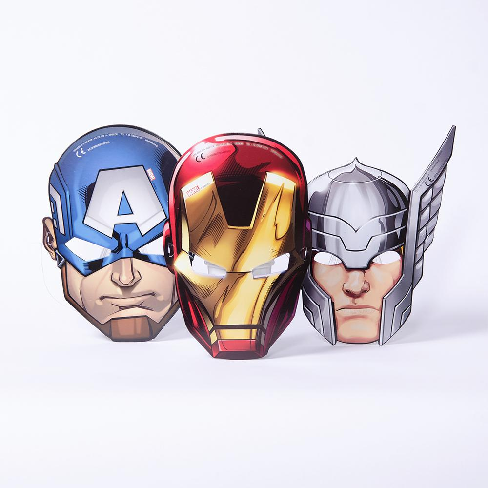 Marvel Avengers Party Masks
