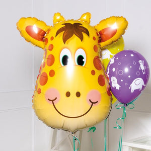 Supershape Giraffe Helium Balloon