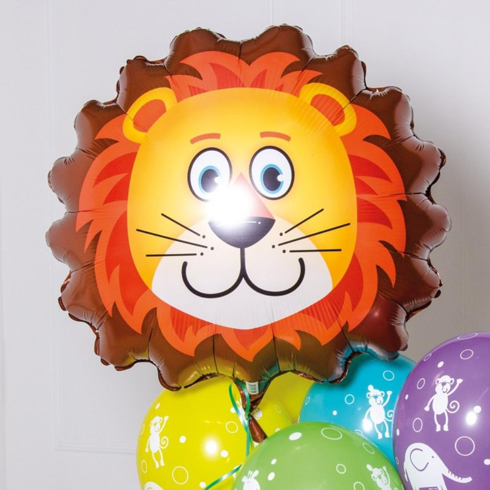 Supershape Lion Helium Balloon