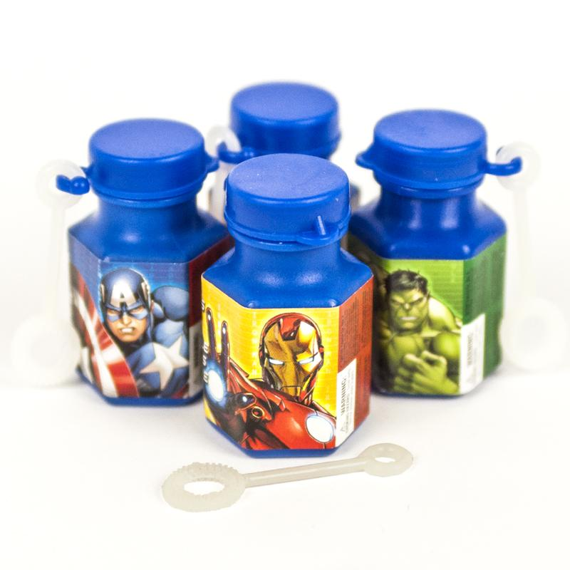 Marvel Avengers Mini Bubbles (x12)