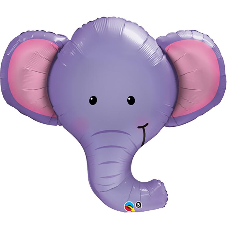 Supershape Elephant Helium Balloon
