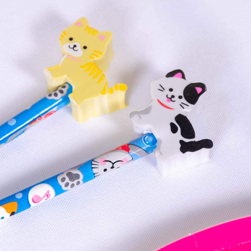 Pet Pencil Toppers (x4)