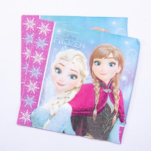 Disney Frozen Paper Party Napkins (x20)