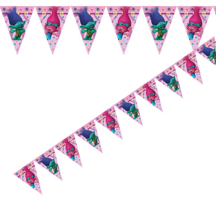 Trolls Party Flag Banner