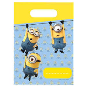Lovely Minions Party Bags (x6)