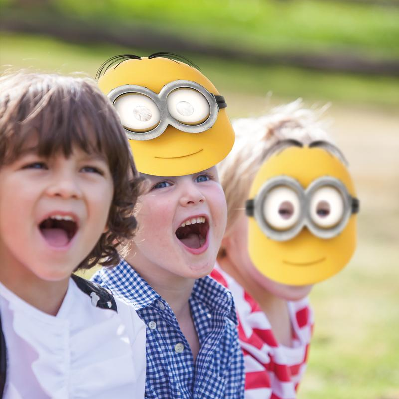 Lovely Minions Party Masks (x6)