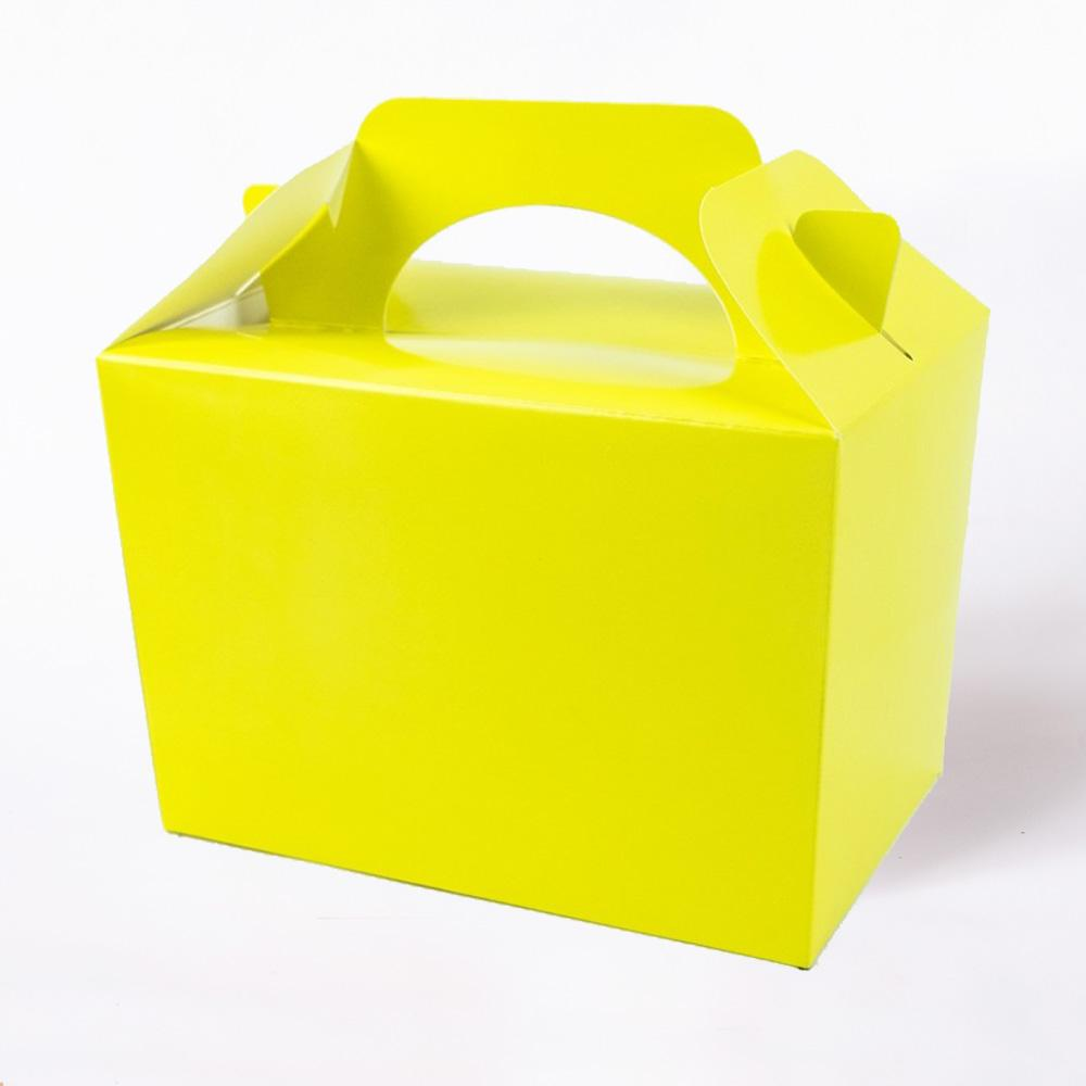 Party Boxes Yellow (x8)
