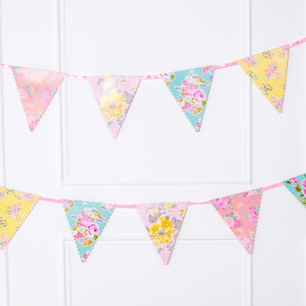 Truly Scrumptious Paper Party Bunting