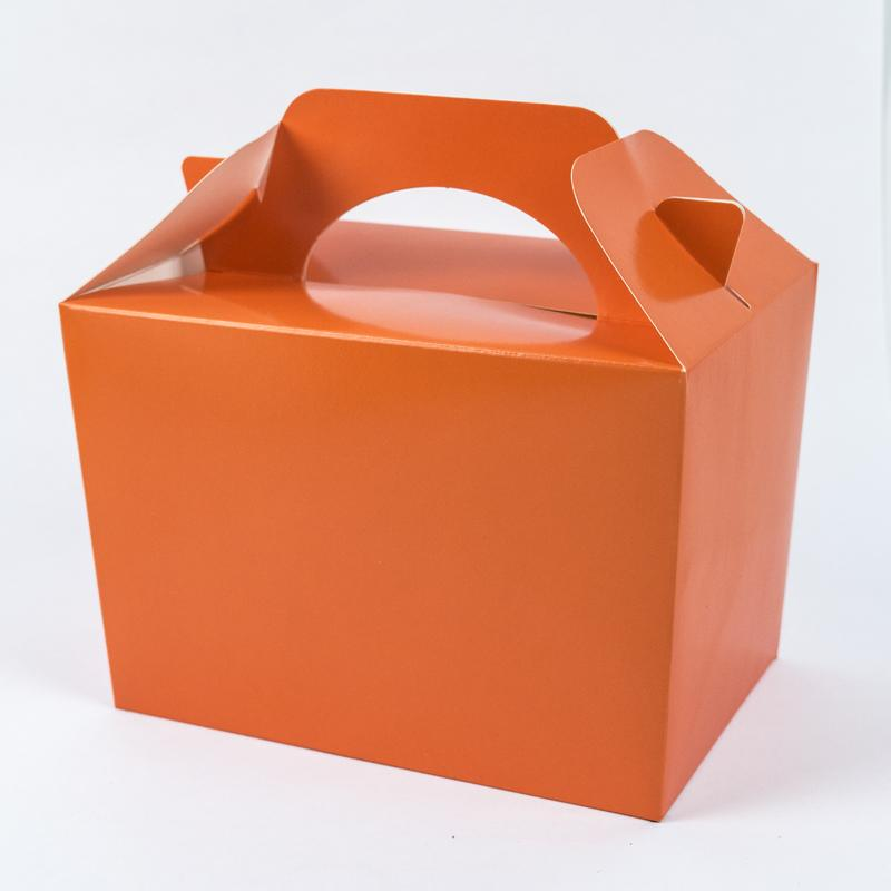 Party Boxes Orange (x8)