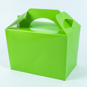 Party Boxes Lime Green (x8)