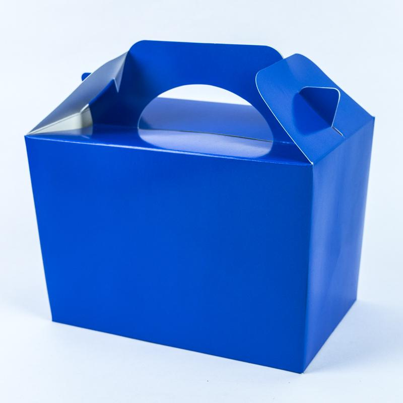 Party Boxes Bright Blue (x8)