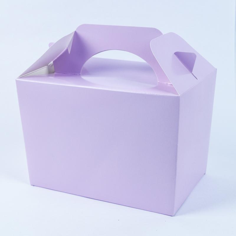 Party Boxes Lilac (x8)