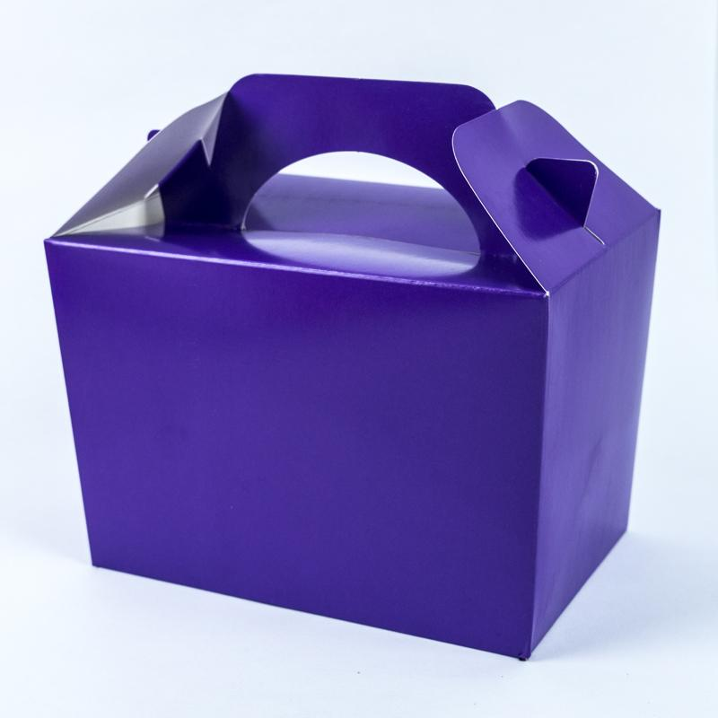 Party Boxes Purple (x8)