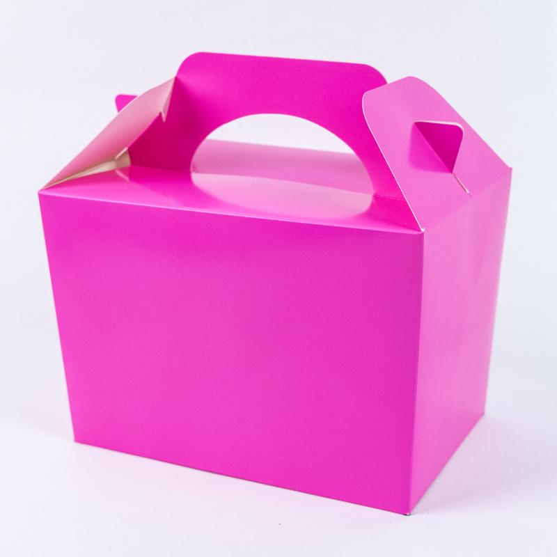 Party Boxes Bright Pink (x8)