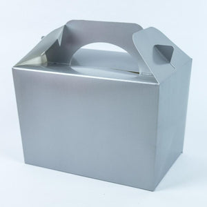 Party Boxes Silver (x8)
