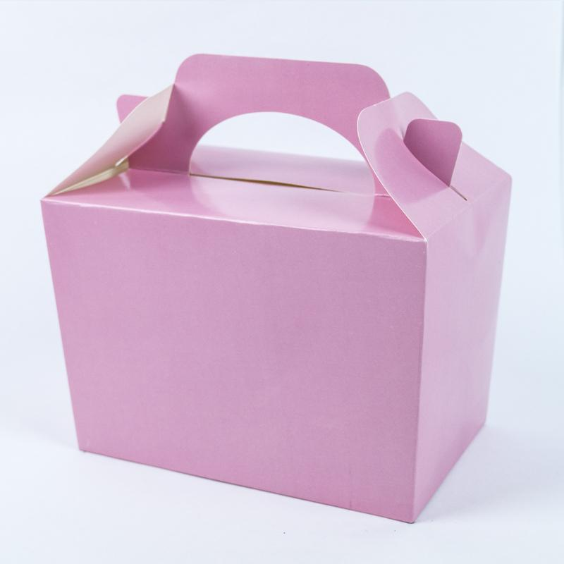 Party Boxes Pale Pink (x8)